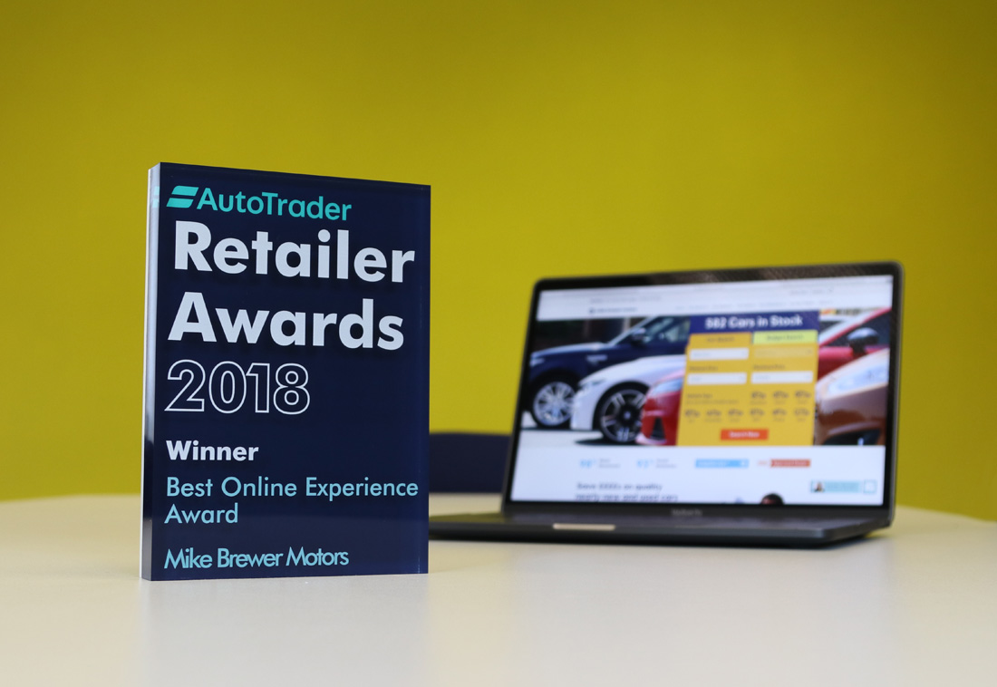 Mike Brewer Motors Best Online Experience Autotrader 2018 Retailer Awards